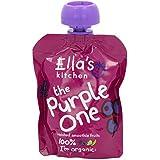La Cuisine De Ella Les Violettes Un Organiques De Fruits Smoothie Écrasés (90G)