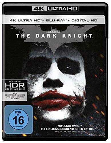 The Dark Knight (4K Ultra HD + 2D-Blu-ray) (2-Disc Version) [Blu-ray]