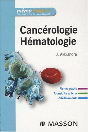Cancérologie, Hématologie