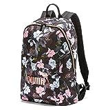 PUMA Damen WMN Core Seasonal Backpack Rucksack, Black floral AOP, OSFA