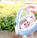 Yosoo 1 PCS White Mesh Portable African Hedgehog...