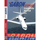 Just Planes Gabon Express Caravelle HS748 DVD