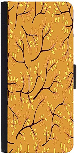 Snoogg A Seamless Pattern With Leaf Designer Protective Phone Flip Case Cover For Lenovo Vibe X3