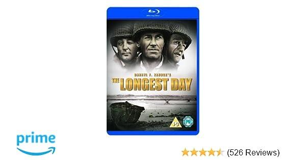 The Longest Day [Blu-ray] [1962]: Amazon co uk: DVD & Blu-ray