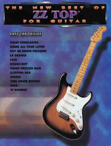 The New Best of ZZ Top for Guitar: Easy TAB Deluxe (New Best of...for Guitar) by ZZ Top (1996-11-01)