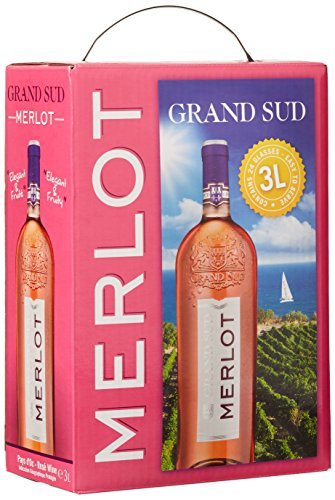 Grand Sud Merlot Rosé Trocken Bag-in-Box (1 x 3 l)