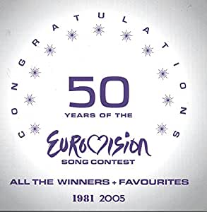50 Years Of The Eurovision Song Contest - All the Winners + Favourites - CONGRATULATIONS (2 CD)