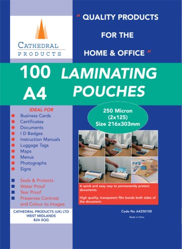 cathedral-a4-laminating-pouches-100-pack-250-micron-2-x-125