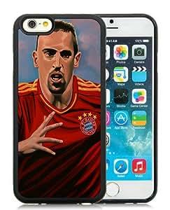 6 4.7 TPU Case,Frank Ribery 6 Black iPhone 6 4.7 inch TPU case