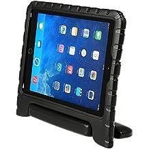 LEADSTAR Funda Para Nuevo iPad 9.7 2017 Tableta Caso de Los Niños para El Nuevo iPad 9,7 Pulgadas de 2017 a Prueba de Golpes Luz Peso Mango Soporte Super Protección Cubierta para Apple iPad Air / iPad Air 2 / Nuevo iPad 9,7 2017 Tablet (Negro)