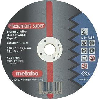 Metabo – Disco tronzar a24-m diámetro 350x3mm (10u)