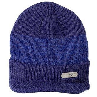 Mizuno 2016 M15 Peaked Golf Beanie Thermal Winter Warm Knitted Mens Golf Hat Patriot Blue