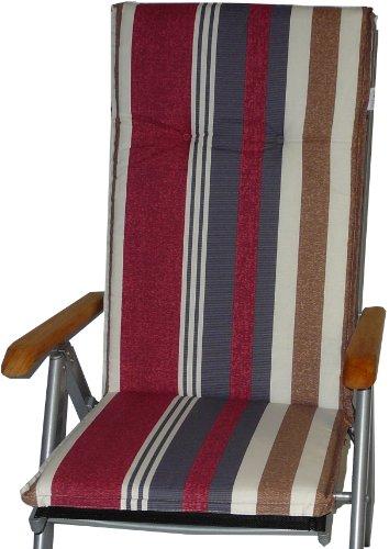 beo B021 Ascot HL Saumauflage für Hochlehner, circa 52 x 120 cm, circa 7 cm Dick