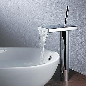 MK contemporain Plan Robinet de lavabo cascade de salle de bain