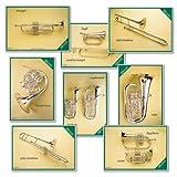 Wildgoose Education MU2224 Brass Instrument Poster (Pack of 8)