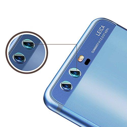Preisvergleich Produktbild Distinct® Für Huawei P10/P10 Plus Kamera Objektiv 7.5H weichen gehärteten Glas Beschützer Film - 3 Stück