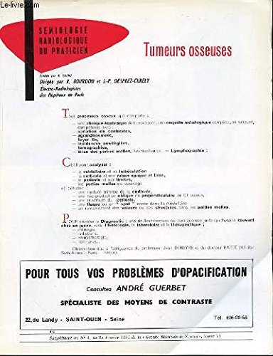 TUMEURS OSSEUSES - COLLECTION