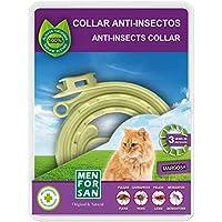MEN FOR SAN Collar Gato Anti-Insecto Margosa