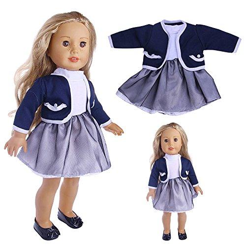 Setsail 18-Zoll-Amerikanerin kleines Weste Petticoat-Kleid, Elegantes -