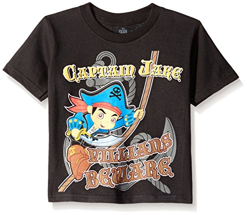 Jake and The Never Land Pirates Beware Villains Kleinkinds T-Hemd | 2T
