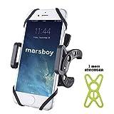 icefox Handyhalterung Fahrrad, Bike Handy Holder(für Lenker-Durchmesser 0-40mm) Verstellbar Smartphone Halterung für Handysbreite 40-100mm