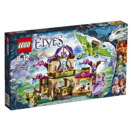 LEGO-Elves-41176-The-Secret-Market-Place-Playset