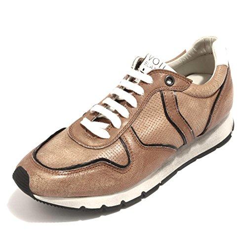 87245 sneaker VOILE BLANCHE OSCAR scarpa uomo shoes men COGNAC
