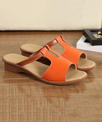 CHAOXIANG Pantofole Da Donna Antiscivolo Con tacco Ciabatte Piatte Sandali Da Surf Nuova Estate Ciabatte Spiaggia ( Colore : C , dimensioni : EU36/UK4-4.5/CN37 ) D