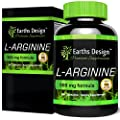 L-Arginine, The Essential Amino Acid that Increases Muscle Growth and Strength, Arginine Promotes Nitric Oxide Levels & Protein Synthesis, Made in the UK, 500mg - 90 Capsules by Earths Design