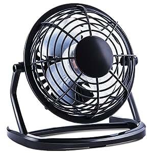 4 mini usb ventilateur portable nicksea 4 feuilles d 39 ventail fan de table et bureau. Black Bedroom Furniture Sets. Home Design Ideas
