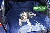 Patrimonio nueva 2en 1impermeable Funda para asiento trasero de coche perro de mascota protector maletero maletero