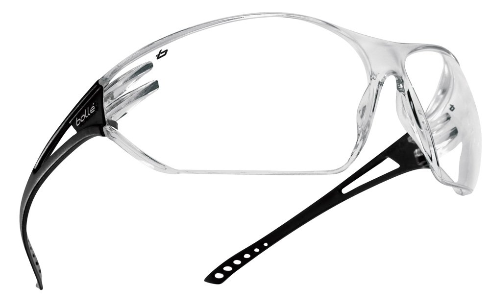 Grey Boll/é SPIPSI One Size Clear Spider Safety Spectacles
