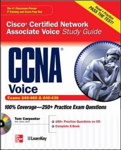 CCNA Cisco Certified Network Associate Voice Study Guide (Certification Press) (Voice-over-internet-modem)