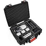 LEKUFEE Tragetasche für Mavic Pro 2,Wasserdichtes Gehäuse Harter Koffer für DJI Mavic 2 Pro / Mavic 2 Zoom / Mavic 2 Enterprise Fly More Kit-Fit für Mavic 2 Zubehör: 5 x Batterien(Wasserfest IP67)