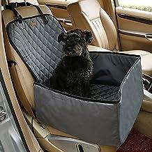 Treat Me 2 en 1 50*100cm Asiento Cesta Tranportin Bolsas para Mascotas Manta en Coche para Proteger Perro Gato Negro