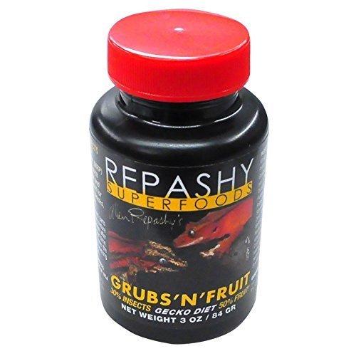 Repashy Superalimentos - Gusanos ' n ' fruta Geco Dieta 30% insectos 50% fruta
