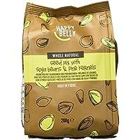 Amazon Marke - Happy Belly Kerne-Mix mit Sojabohnen und Pinienkernen, 7x200 g