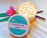 Peelingmousse Vanille, vegan, ohne Palmöl, handgemachtes Peeling von kleine Auszeit Manufaktur