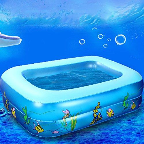 Hrph Jugendliche Baby Karikatur Unterwasserwelt Muster gedruckt Aufblasbare Aerated Platz Neugeborene Pool