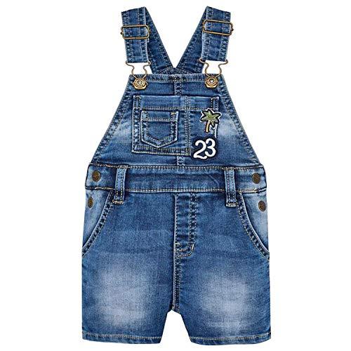 Mayoral - Jungen Kurze Latzhose mit abnehmbaren Trägern. Jeans - 1.640. Größe 92 -