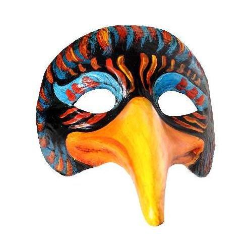 KARTARUGA SRL, VENETIANISCHE MASK (Maske Crow Kostüm)