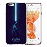 blitz-versand-germany Blitz® JEDI STAR WARS Schutz Hülle Transparent TPU Cartoon Comic iPhone  M8 iPhone 6 6s