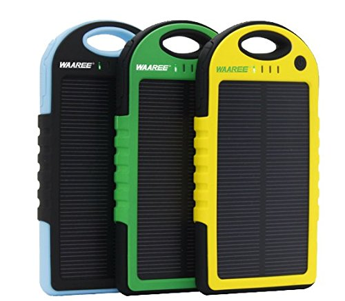 Waaree Water Proof Solar Power Bank 5000 mAh first time in India