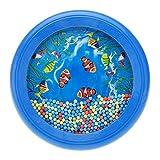 Kinder Spielzeug - SODIAL(R)Ozean Wellen Bead Trommel Musikalisches Paedagogisches Spielzeug Werkzeug fuer Baby Kinder