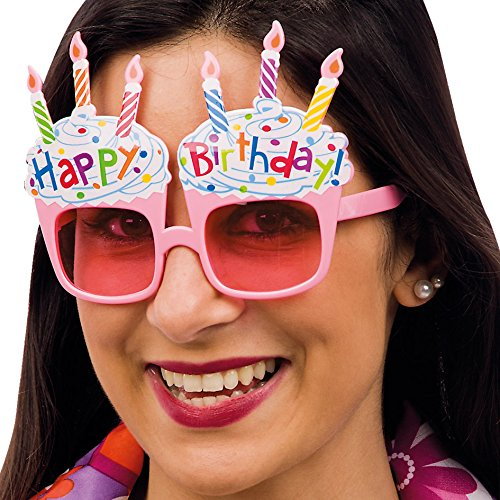 CARNIVAL TOYS 6056 Brille Happy Birthday to A Karte