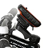Wicked Chili Fahrradhalter Vorbau/Ahead Halter für Garmin eTrex, Dakota, Oregon, Approach, Astro, GPSMAP (MTB/Rennrad, Made in Germany, QuickFix, 20% Carbon)