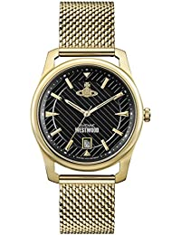 Vivienne Westwood Mens Analogue Classic Quartz Watch with Stainless Steel Strap VV185BKGD