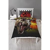 Jurassic World Single Duvet Cover, Multi-Coloured, 135 x 200 cm