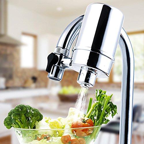 Wasserhahn Filter, Manfore 8 Stufig Wasser Filtersystem / Wasserfilter Wasserhahn / Leitungswasser Filter Für Bad Und KüChe (G68)
