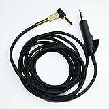 Miyaya Ersatz-Audiokabel für Bose Quiet Comfort 15 QC15 QC 15 QC2 Kopfhörer Kabel 2M
